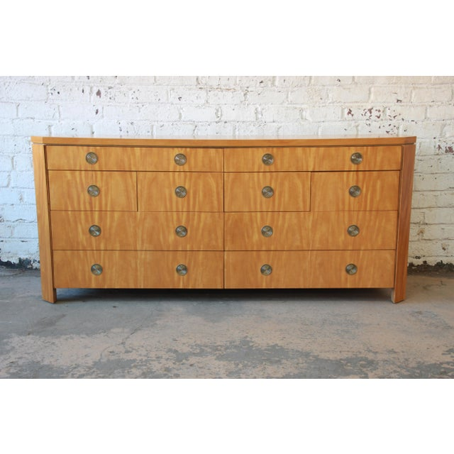 Charles Pfister for Baker Primavera Ten-Drawer Long Dresser For Sale - Image 11 of 11