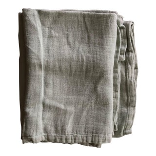 Coyuchi Textural Linen Throw For Sale