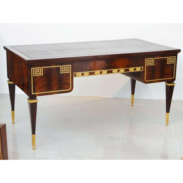 Maison Forest Fine French Ormolu-Mounted Desk, by Forest For Sale - Image 4 of 11