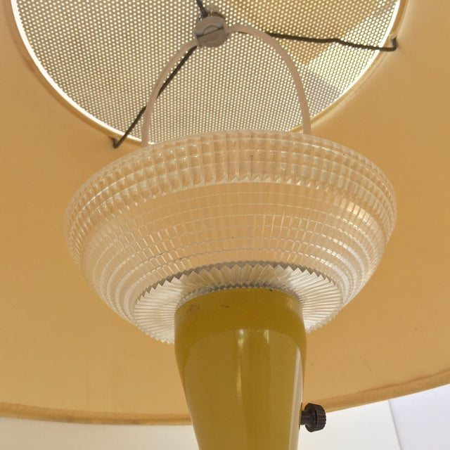 Gerald Thurston Table Lamp in Mustard - Image 5 of 9