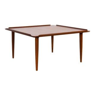 Mid-Century Modern Teak Coffee Table by Poul Jensen for Selig For Sale