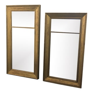 Antique 19th Century European Mirrors - Set of 2 For Sale