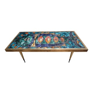 A Coffee Table Signed by Antonini, Italy 60