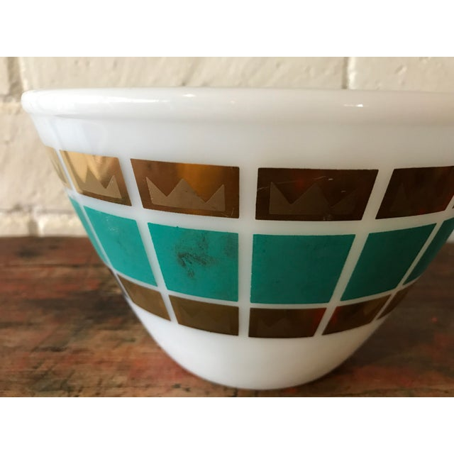 1950's Fred Press Fire King Bowl For Sale In Los Angeles - Image 6 of 11