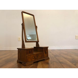 Traditional Vintage Japanese Vanity, Small, Perfect for Dresser Top Preview