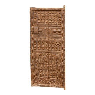 19th Century Tribal Beautifully Carved Door For Sale