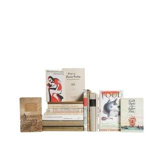 Poetic Neutrality : Set of Twenty Decorative Books