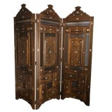 Image of Hand Carved Moroccan Style Room Divider For Sale