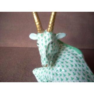 1970s Vintage Herend Antelope Figurine Preview