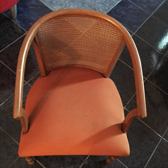 1960's Vintage Barrel Chairs - A Pair - Image 3 of 11