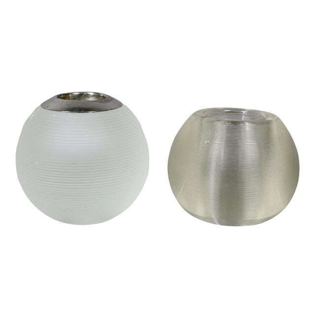Each ribbed ball form match strikers, three with silver or silver plate mounts.