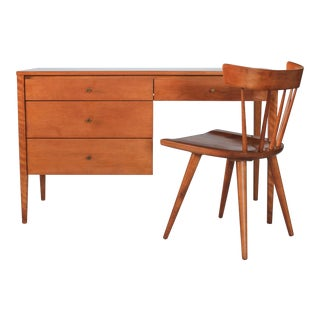 Paul McCobb Planner Group Writing Desk & Chair