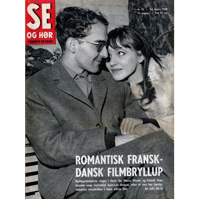 1960s Vintage Jean Luc Godard Collectible Magazine For Sale