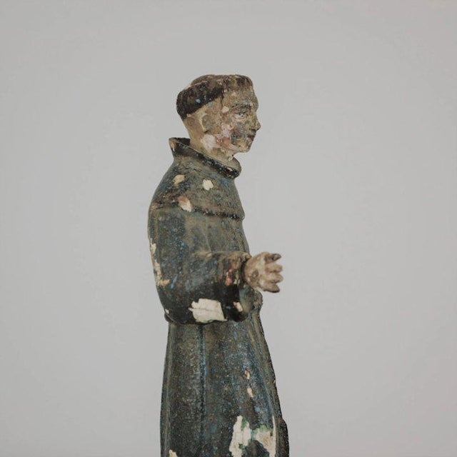 Figurative 19th Century St. Anthony Santos For Sale - Image 3 of 13