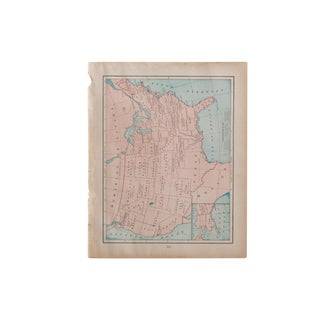 Cram's 1907 Map of Usa For Sale