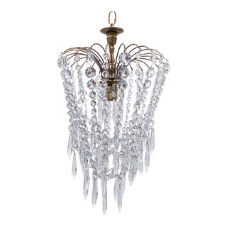 Parachute Chandelier With Graduated Chain For Sale