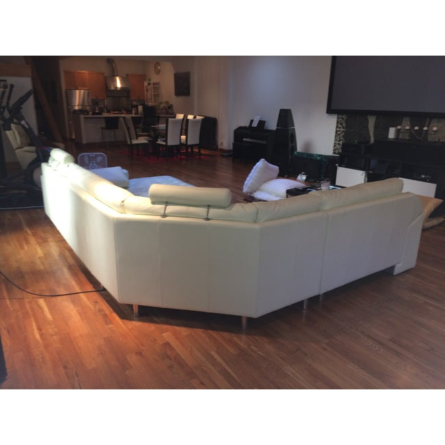Denelli Italia White Modular Sofa - Image 3 of 6