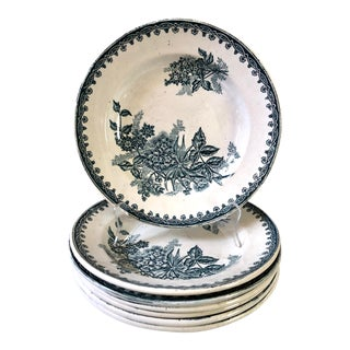 Saint Amandinoise French Bowls, Set of 7 For Sale