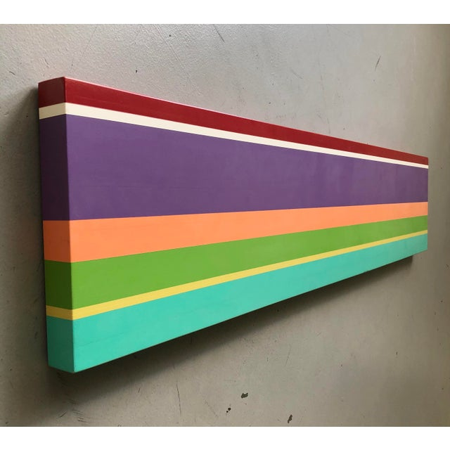 Modern Minimalist Acrylic Painting by William Finlayson For Sale In West Palm - Image 6 of 11