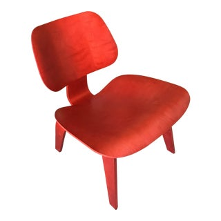 Red Eames LCW Chair