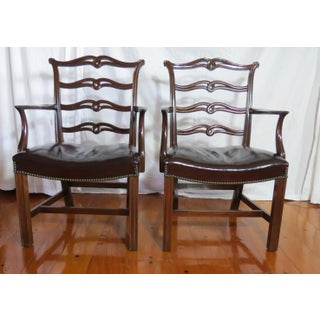 Chippendale Ribbon Back Dining Chairs - Set of 8 Preview