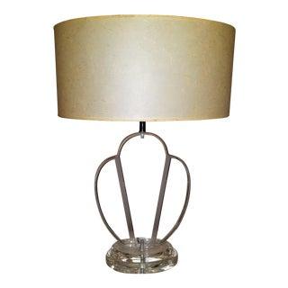 C.1975 Lucite Tabe Lamp