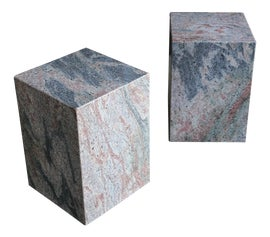 Image of Granite Side Tables