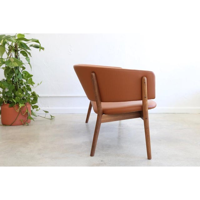 Nanna Ditzel Mid-Century Danish Nanna Ditzel for Snedkergaarden Shell Sofa For Sale - Image 4 of 9