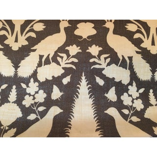 Schumacher Chenonceau Pleated Drapes/Curtains - a Pair For Sale