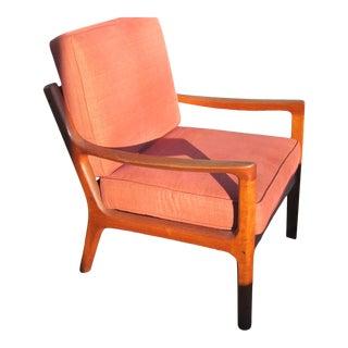 1960s Teak Senator Armchair by France & Son Design by Ole Wancsher For Sale