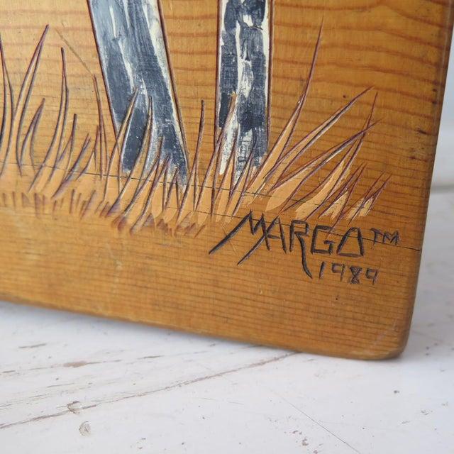 Split Log Side Table For Sale - Image 9 of 9