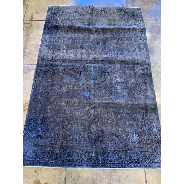 1940s 1940s Turkish Silk Rug For Sale - Image 5 of 7