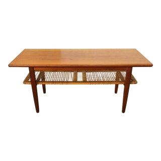 Vintage & Used Teak Coffee Tables | Chairish