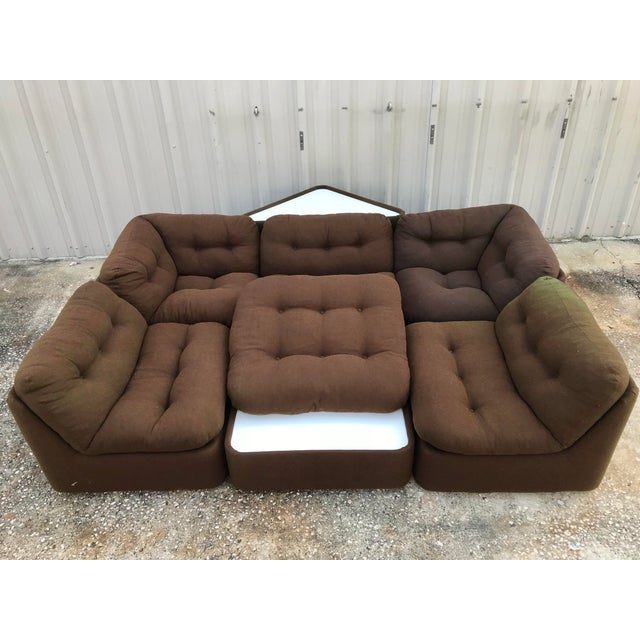 Astonishing 1970S Modular Sofa Sectional Creativecarmelina Interior Chair Design Creativecarmelinacom