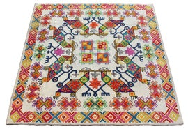 Image of Fabric Traditional Handmade Rugs
