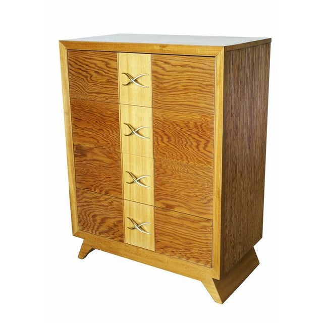 Paul Frankl Four-Drawer Dresser for Brown Saltman - Image 3 of 8