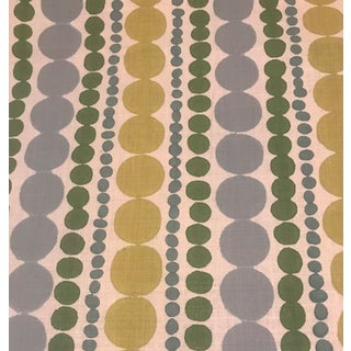 "Galbraith and Paul Linen ""Candy Stripe"" Fabric - 1 1/2 Yards For Sale"