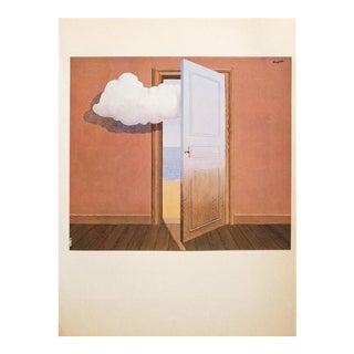 "1972 Rene Magritte, ""Poison"" Original Photogravure For Sale"