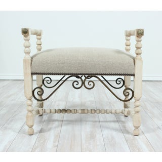 1930s Vintage Spanish Baroque Style Bench Preview