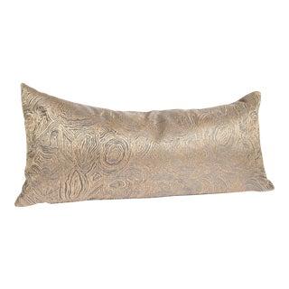 Iridescent Agate Lumbar Pillow For Sale
