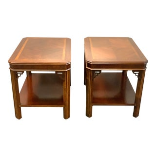 Mid-Century Lane End Tables - a Pair For Sale