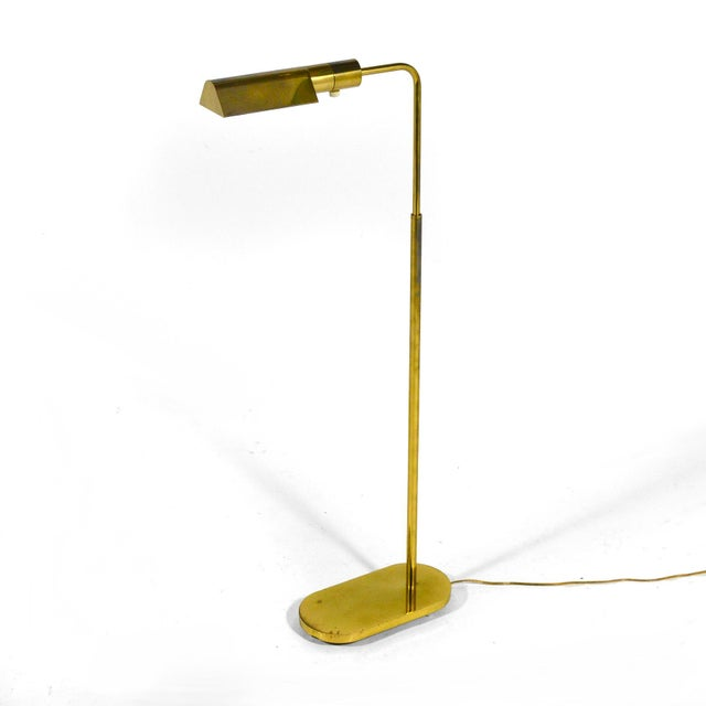 This wonderful pharmacy floor lamp designed by Jon Norman for Casella is impeccably constructed of solid brass. The heavy...