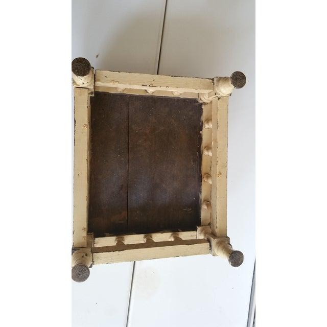 Antique Rustic Farmhouse Footstool - Image 6 of 7