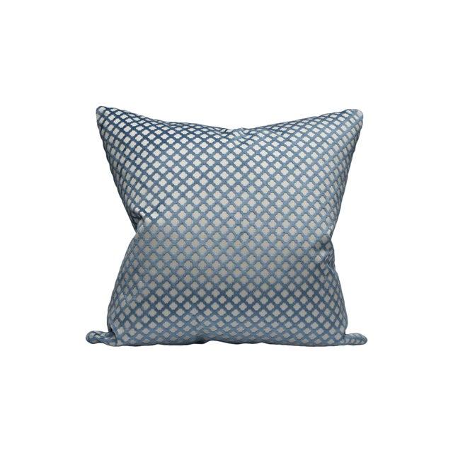 Pomfret Pillow, Lapis For Sale