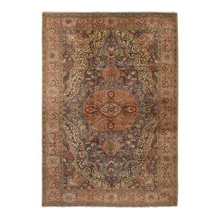"""Keisari Vintage Turkish Rug, 6'7"""" x 9'8"""" feet"""