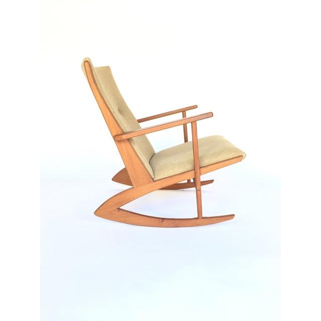 Danish Modern Holger Georg Jensen Rocking Chair For Sale - Image 3 of 4