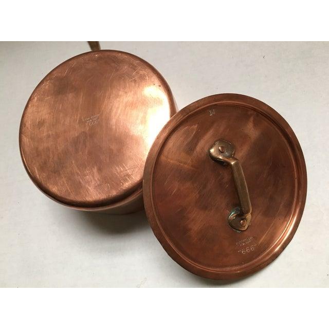 Bazar Francais Vintage Copper Saucepan - Image 7 of 8