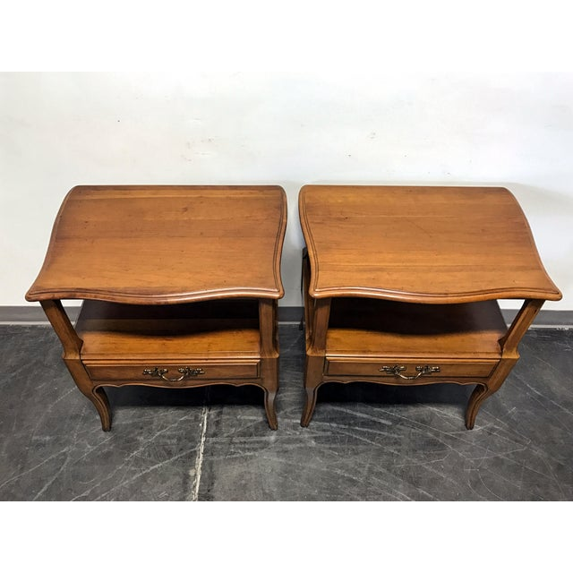 Davis Cabinet Co French Provincial Nightstands - A Pair - Image 5 of 11