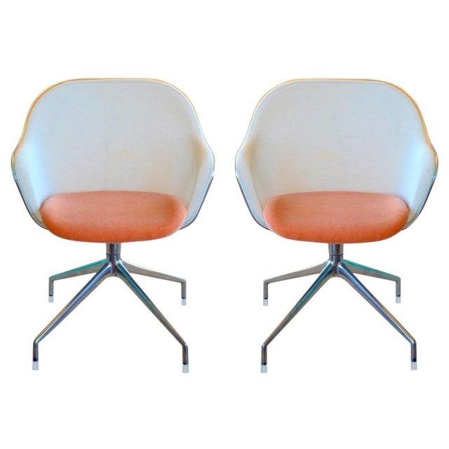 Antonio Citterio for B&b Italia Iuta Chairs - a Pair For Sale