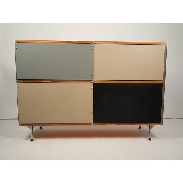 ESU 200 Storage Unit, second series designed by Charles & Ray Eames for Herman Miller. Acquired from the original owner...